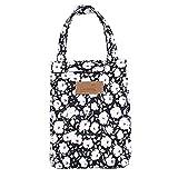 Shopper 52 Lunch Bag Cloth Aluminium Foil Insulated Cooler Tote Bag Travel Convenient