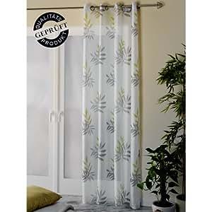 senschal dekoschal gardine vorhang schal leichte struktur 8 silberfarbene. Black Bedroom Furniture Sets. Home Design Ideas