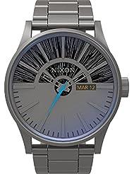 Nixon Herren-Armbanduhr Analog Quarz Edelstahl A356SW2385-00
