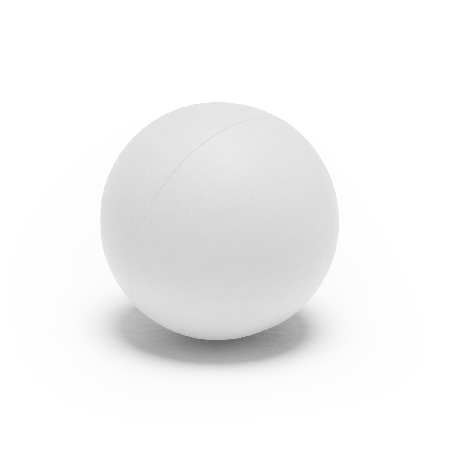Champion Sports Soft Sponge Safe Indoor Practice Lacrosse Ball, White (12-Pack)