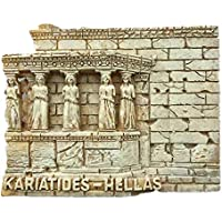 Kühlschrankmagnet,Magnetschild,Souvenir,Reise-Motiv Santorino Greece I