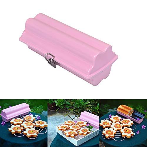 Kastenform mit Deckel zum Backen von ca. 45 g Brotpfanne, Millennial, rund, antihaftbeschichtet, Edelstahl, spülmaschinenfest