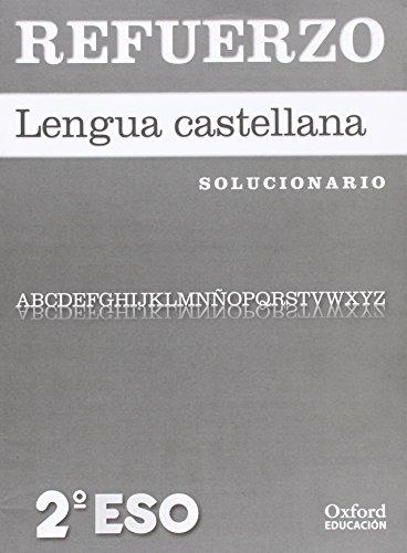 Lengua Castellana y Literatura 2º ESO Cuadernos de Ejercicios Refuerzo (Solucionario) 12 - 9788467367942