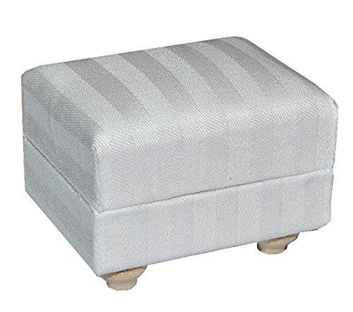 Miniatur Couch Hocker / Sofa Hocker - für Puppenstube Maßstab 1:12 - Puppenhaus Puppenhausmöbel Sofasessel Wohnzimmer Klein