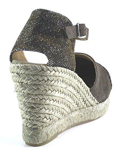 Unisa Schuhe | Keilsandalette | braun Braun