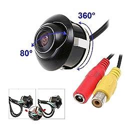 Rückfahrkamera 360 Grad Rückansicht Kamera wasserdichte Vorderansicht Doppelte Switch Upgrade Abschnitt Farb Backup-Kamera Auto Kamera Nachtsicht Einparkhilfe