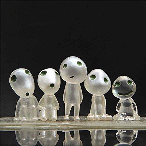 Royalr 5 Stück im Set Licht Leuchtenden Baum-Fee-Karikatur-Kind-Geist-Spielzeug-Puppe-Geschenk - Puppen Alt Jahr Für Fünf