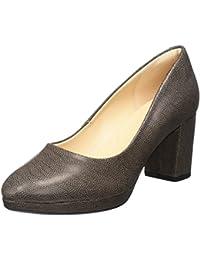 Peter Kaiser Calua, Zapatos de Tacón con Punta Cerrada para Mujer, Gris (Pastell Suede 475), 40 EU