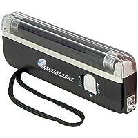 OmniaLaser Lampada OL-UVMONEY di Wood UV Ultravioletta Rilevatore Banconote False con Torcia LED