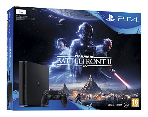Foto de PlayStation 4 (PS4) - Consola 1 TB + Star Wars Battlefront