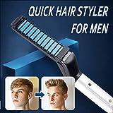 2018 Nouveaux Cheveux Fer À Friser Hommes Tout En Un Céramique Cheveux Styling Fer Fer À Lisser Curler Ensemble Rapide Coiffant pour Hommes