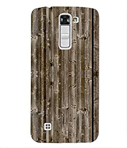 For LG K3 -Livingfill- Wooden Board Texture Printed Designer Slim Light Weight Cover Case For LG K3 (A Beautiful One of the Best Design with a Classic Theme & A Stylish, Trendy and Premium Appeal/Quality) (Red & Green & Black & Yellow & Other)