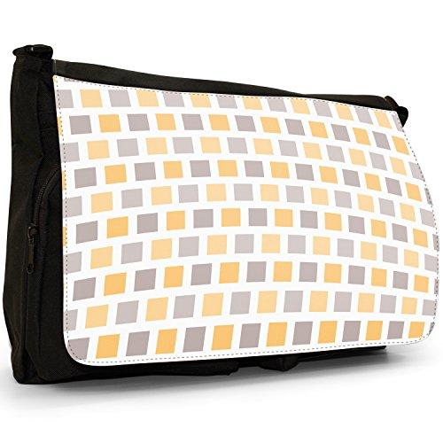 Fancy A Snuggle, Borsa a spalla donna Large Modern Square Mosaic Pattern