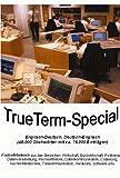TrueTerm-Special, Englisch-Deutsch/Deutsch-Englisch, CD-ROM Fachwörterbuch aus den Bereichen Wirtschaft, Bürowirtschaft, Postwesen, Datenverarbeitung, Rechnertheorie, Datenkommunikation, Codierung, Nachrichtentechnik, Telekommunikation, Hardware, Software usw.