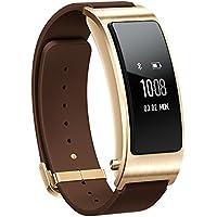 Huawei TalkBand B3 Business Smart Bracelet Wireless Activity Tracking Leather Wristband + Bluetooth Earpiece Mocha Brown
