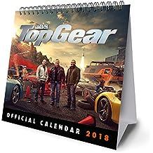 Top Gear Official Desk Easel 2018 Calendar - Month To View D