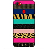 For Oppo F7 Beautiful Pattern ( Beautiful Pattern, Nice Pattern, Stripes, Polka, Tiger Print Pattern, Star, Pattern ) Printed Designer Back Case Cover By King Case
