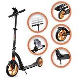 SAMAX Patinete Scooter para Ciudad Deporte Adultos Ajustable Aluminio Plegable S