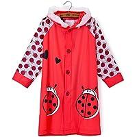 Mainaisi Bambini Impermeabile Poncho Cartone Animato Raincoat all'aperto