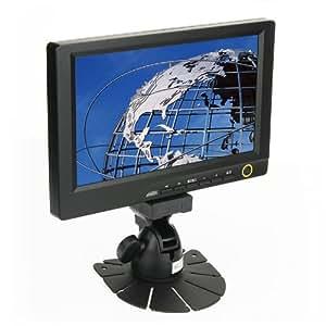 "LILLIPUT 869GL-80NP/C/T 8"" moniteur LCD avec DVI Entrée HDMI (Résolution: 800 x 480, jusqu'à 1,920 x 1,080 pixels ; Signal d'entrée: PC (VGA), AV1, AV2, HDMI, DVI, YUV)"