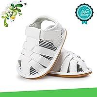 Zapatos de Bebé, Morbuy Unisexo Zapatos Bebe Primeros Pasos Verano Recién nacido 0-18 Mes Bebé Casual Verano Zapatos Suela Blanda Zapatillas Antideslizante Sandalias (13cm / 12-18meses, Blanco)
