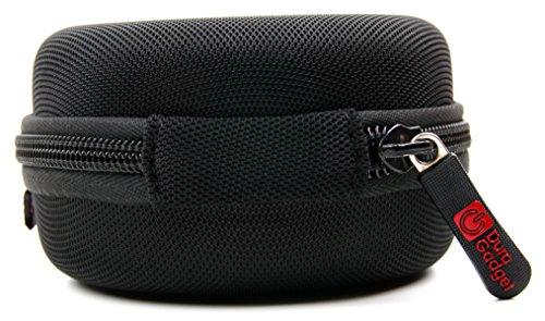 Custodia Per Mpow Swift / Magneto / Dunmer / Wolverine / Cheetah | Vansky VS-BH04 EU | GRDE / AUKEY / QCY X7 Auricolare Bluetooth 4.1 | VicTsing PA43B-ITIN / Mini Wireless | Soundpeats Q12 - Con Mini Moschettone Di Trasporto + Tasca Interna - DURAGADGET