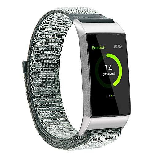 0bb6dc86c586 Darringls_Correa para reloj,Para Fitbit Charge 3 Pulsera de Repuesto ...