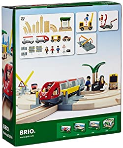 BRIO World - Rail & Road Travel Set