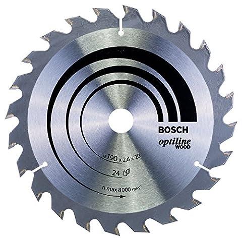 Bosch 2608640612 Optiline Wood Circular Saw Blade