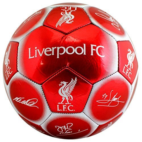 Team Signature Football Liverpool Size 5 by Liverpool F C