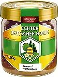 Bihophar - Echter Deutscher Honig Tannen-/Fichtenhonig - 500g