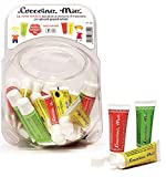 """COCCOINA Bonbonnière de 30 tubes de colle vinylique blanche""""Mia"""" 25 g coloris assortis"""