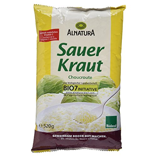 Alnatura Sauerkraut, 10er Pack (10 x 500 g)