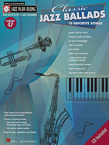 Jazz Play-Along Volume 47: Classic Jazz Ballads