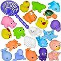 10 Pcs different Animals Bath Toys Baby Bathing Toys Bathroom Pool Accessory by Stillshine