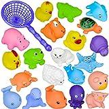 10 PC verschiedene Spaß Tier-Spielzeug / Babywanne Spielzeug / Spielkinderspielzeug