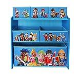 Playmobil–Estantería de almacenaje con 6Puertas (Textiles, 064624