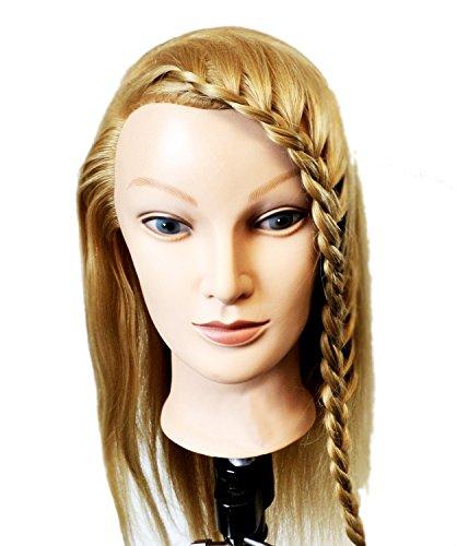 Tête de mannequin pour la formation des coiffeurs. Longs cheveux blonds. cheveux doux | Formation professionnelle des coiffeurs by RIVENBERT
