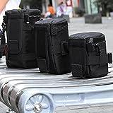 Black Shock Proof Camera Lens Protective...