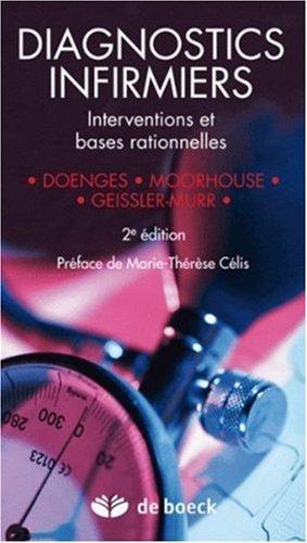 Diagnostics infirmiers : Interventions et bases rationnelles