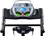 Newgen Medicals Fitnessgeräte: 2in1 Profi-Laufband LF-412.multi mit Fitness-Station und Bandmassage (Laufband mit Massageband) - 5