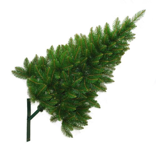 Christmas Tree Brackets: Outdoor Wall Mounted Christmas Tree 5ft/1.5m With Fixing