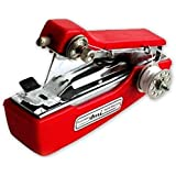 Hand Sewing Machine/Portable Sewing Machine/Stapler Sewing Machine (Red Color)