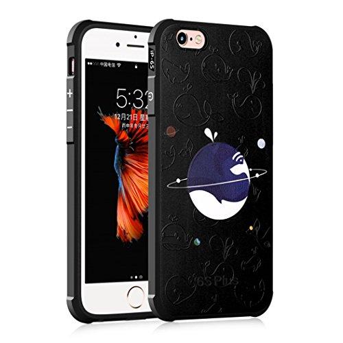Apple iPhone 6/6S 4.7 Hülle, Voguecase Schutzhülle / Case / Cover / Hülle / TPU Gel Skin (Stein 02) + Gratis Universal Eingabestift Blauwal 01