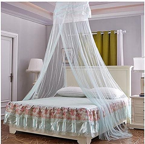 Baies moustiquaires plus hauts plafonds dentelle Dentelle princesse dome haute