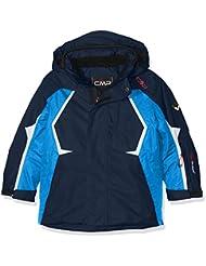 CMP - Chaqueta de esquí para chico, otoño/invierno, niño, color azul marino, tamaño 8 años (128 cm)