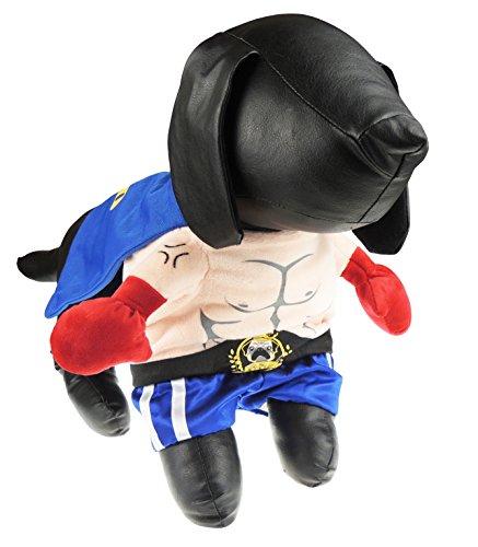 atzen Kleid bis Halloween Funny Kostüm Muskel Boxer ()
