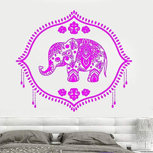 zqyjhkou Indien Baby Elefant Kindergarten Hinduismus Hindu Aufkleber Mädchen Schlafzimmer Wandaufkleber Home Design 7 123 cm x 110 cm