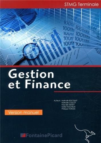 Gestion et finance Tle STMG