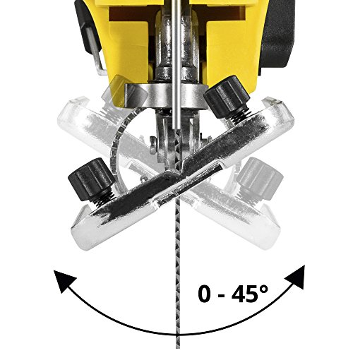 TROTEC Stichsäge PJSS 10-230V Pendelhubstichsäge inklusive Stichsägeblätter-Set Metall (10-teilig) - 8